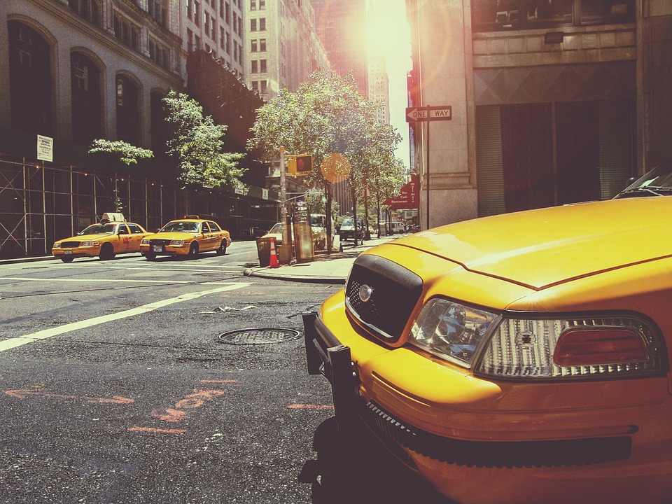 taxíky - new york